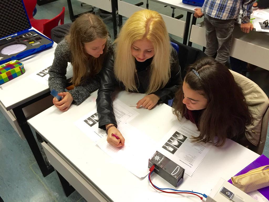 JCRG - schee Neu am Reinhart: Forscherklasse
