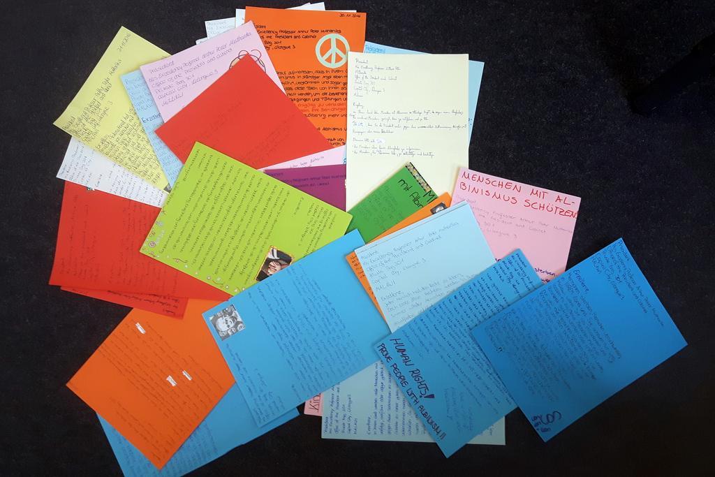 JCRG - schee Briefe für den Schutz von Menschenrechten