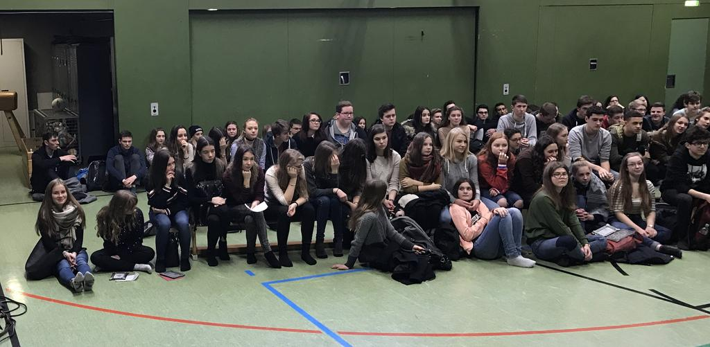 JCRG - schee Theaterworkshop: Ein besonderer Start ins neue Jahr