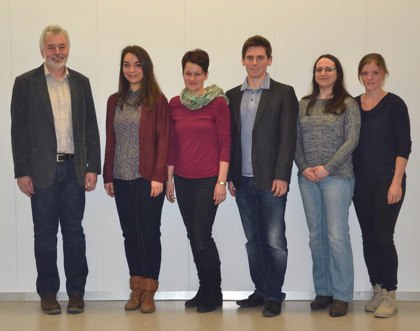 JCRG - schee Vier neue Lehrerinnen und ein neuer Lehrer