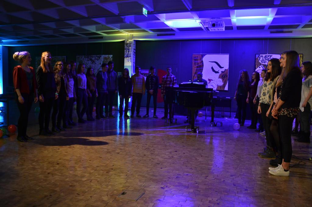 JCRG - schee Qreativer Abend der 12Q