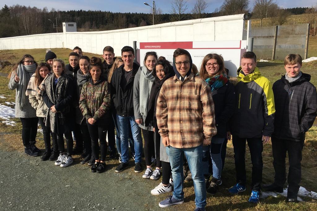 JCRG - schee Mauer, Zaun und Stacheldraht – Exkursion nach Mödlareuth